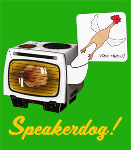 Bentheillustrator's Speakerdog!, '08